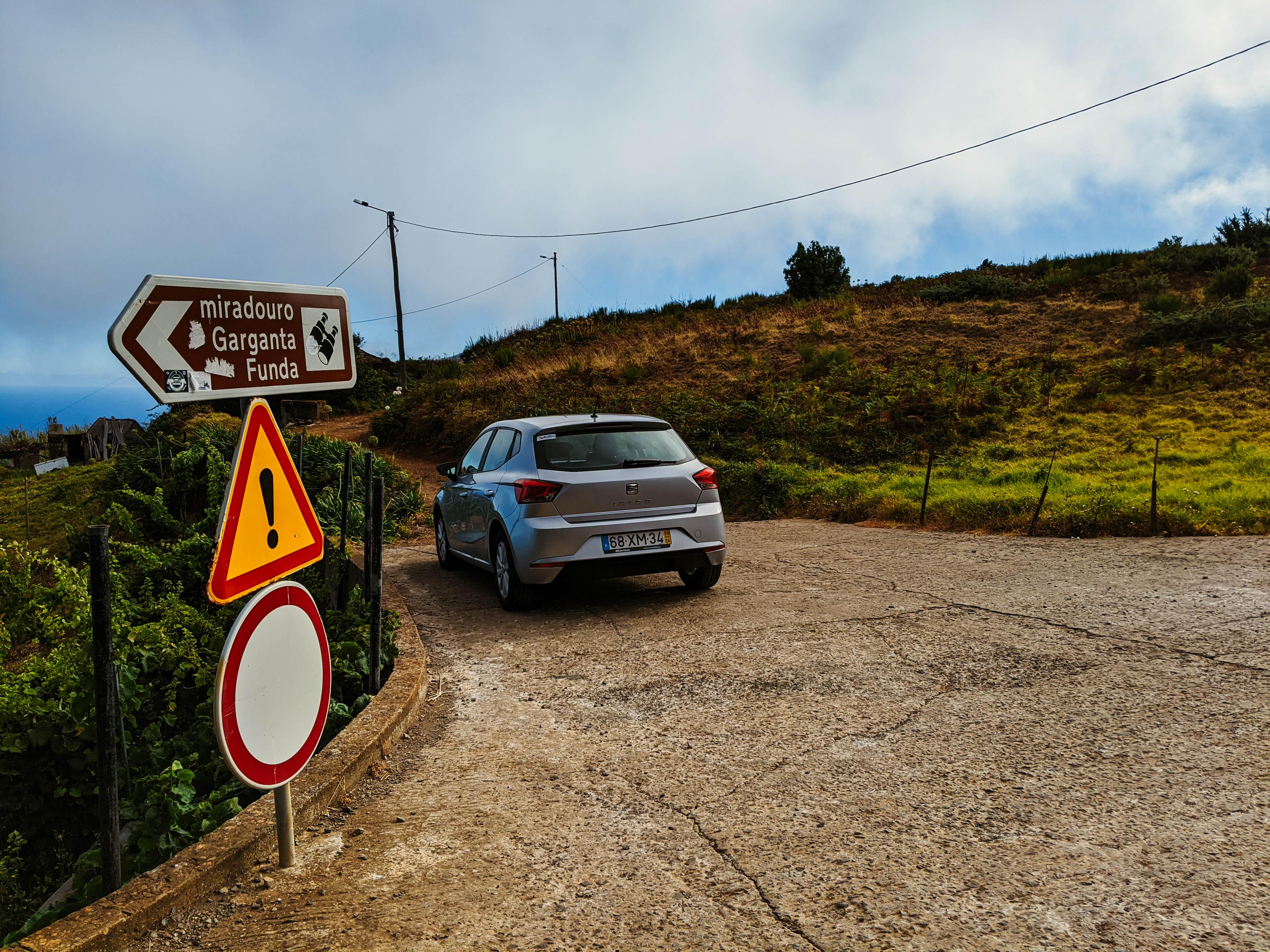 Ibiza 3km Road Sign
