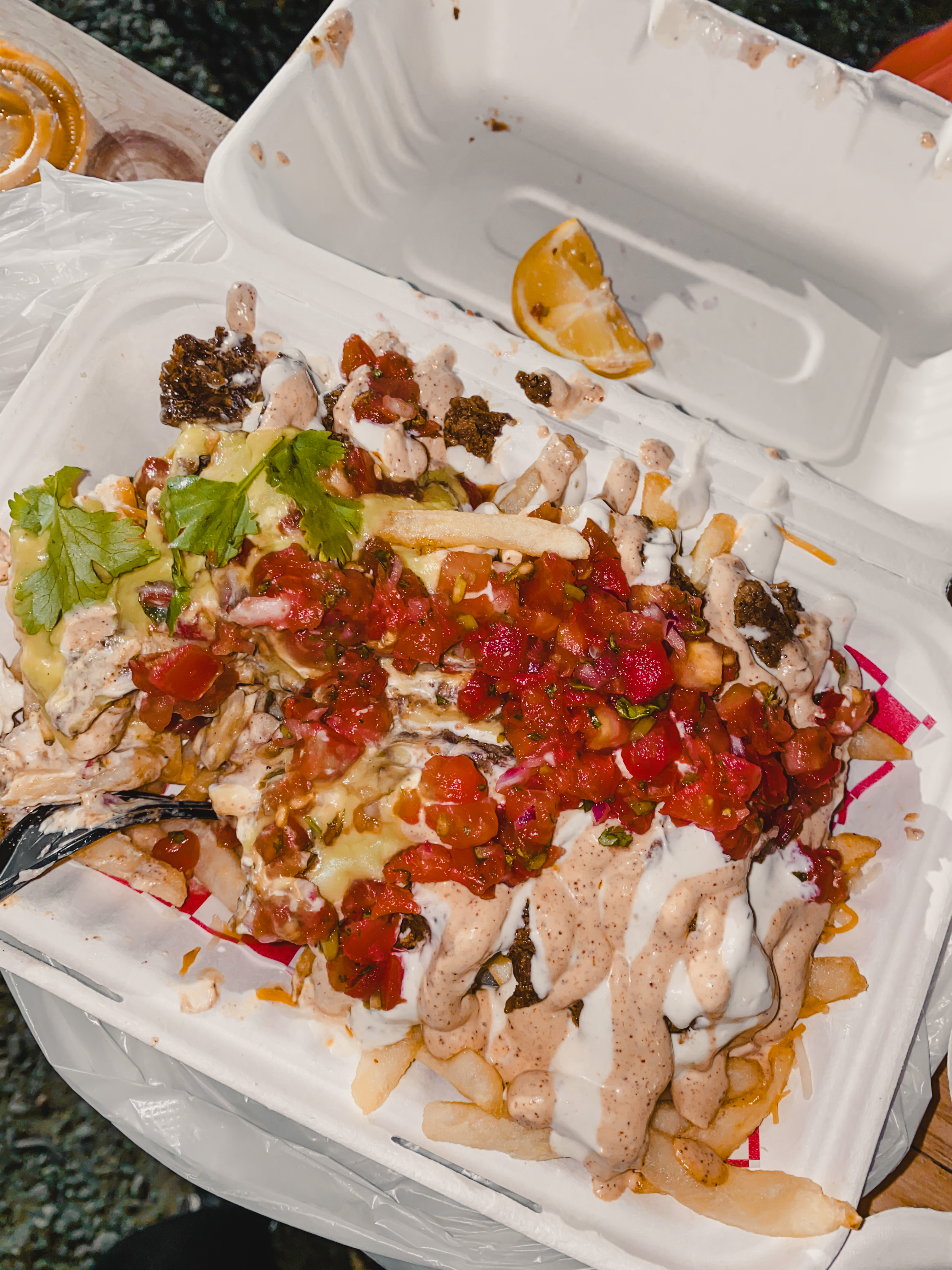 Local Guides Connect Loaded Nacho Fries In Cabramatta Sydney Local Guides Connect