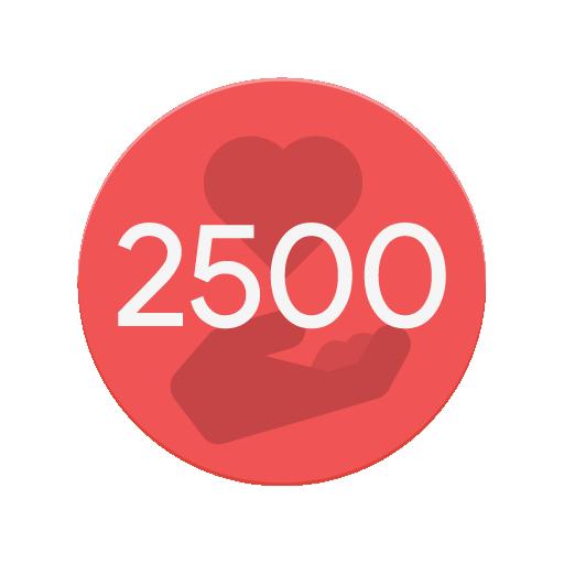 Gave 2500 Kudos