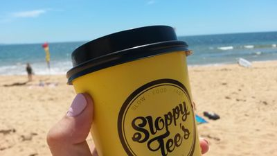 Image of a caffeine hit at Collaroy Beach