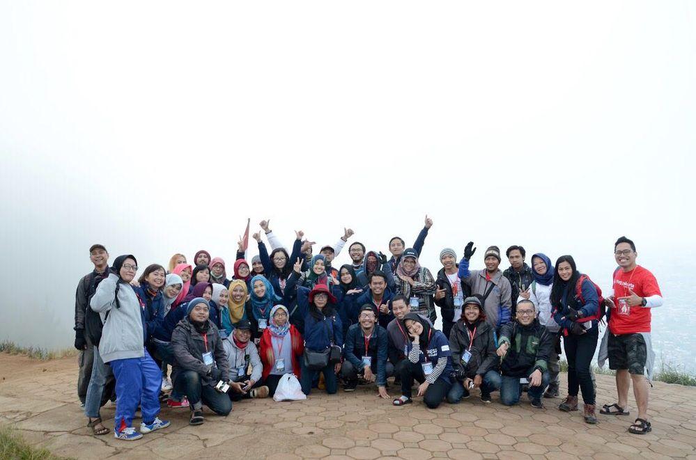 Indonesia Local Guides before Mount Banyak Geowalk