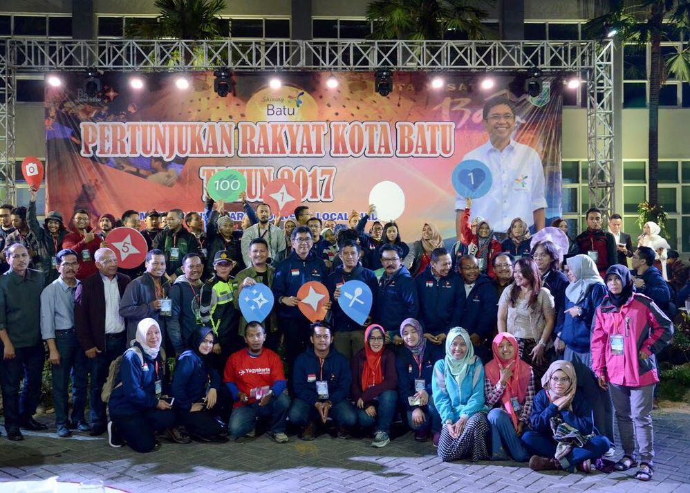 Indonesia Local Guides and Batu City Stakeholders