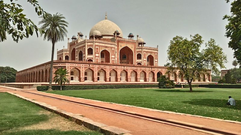 Humayun's Tomb, New Delhi (photo by Chandan Anand)