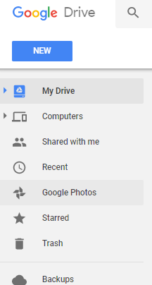 how to delete pictures from google drive