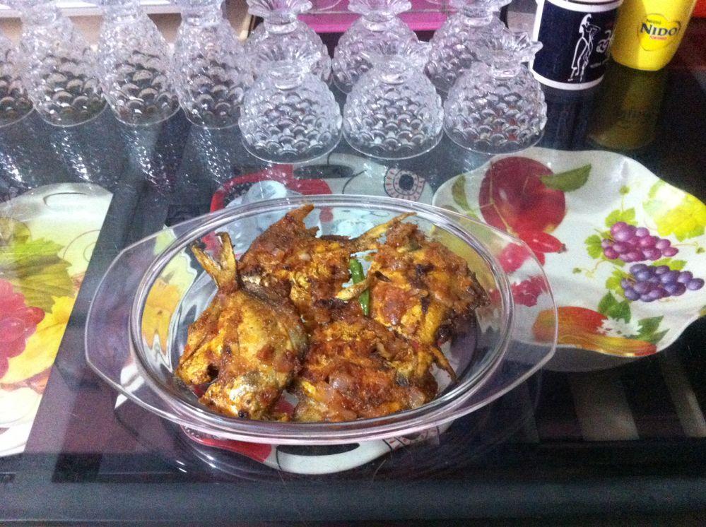 Fried Rupchanda Fish (Silver Pomfret)