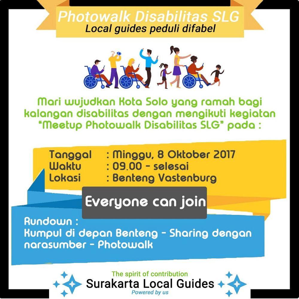Solved: Local Guides Connect - Meetup photowalk Surakarta Local Guides dengan tem... - Local ...