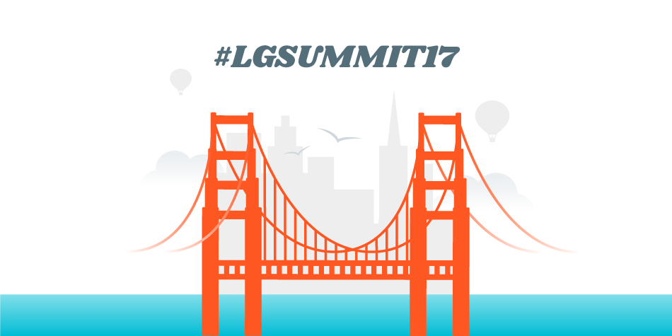 Follow #LGSummit17 to get updates.