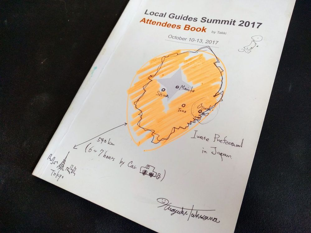 My Local Guides Attendees Book
