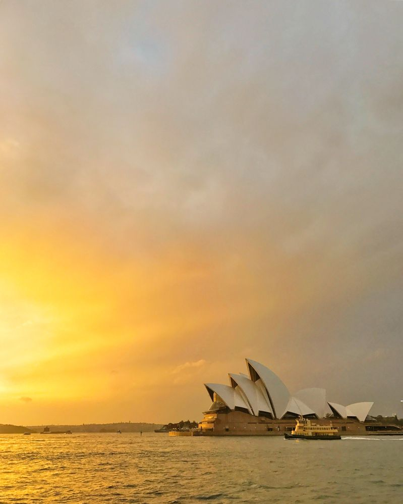 Caption: Sydney Opera House in Australia