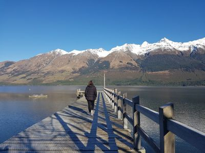 Image Caption: A picture-perfect day at Glenorchy