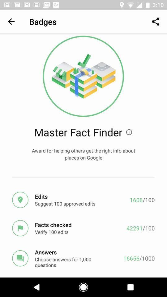 Master  Fact Finder