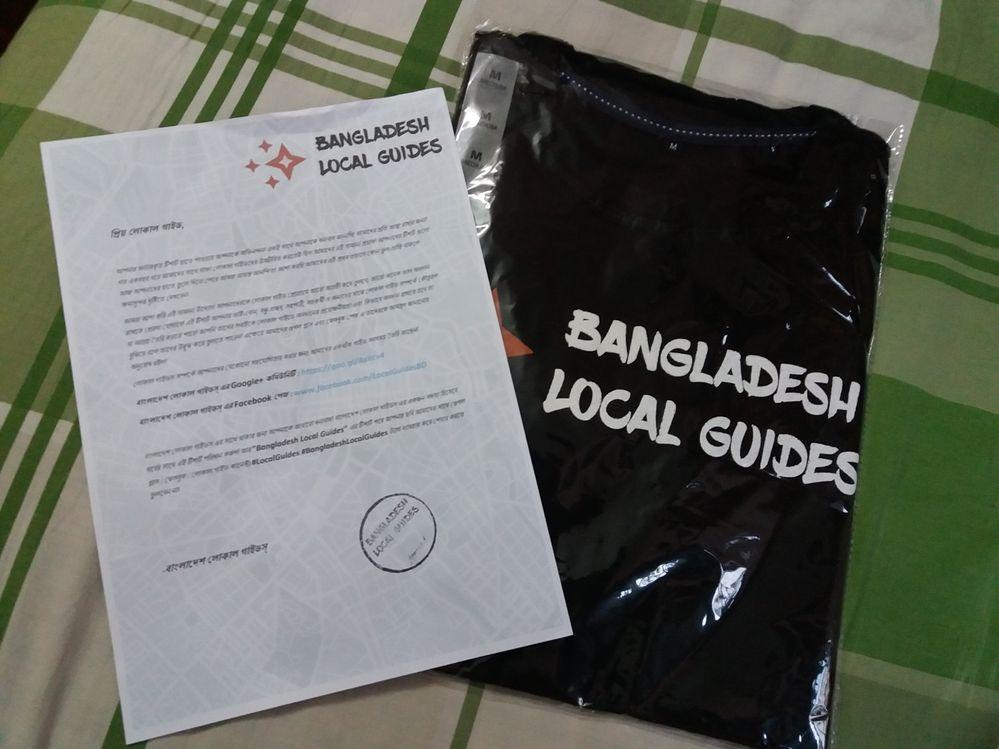 Google Local Guide T Shirt