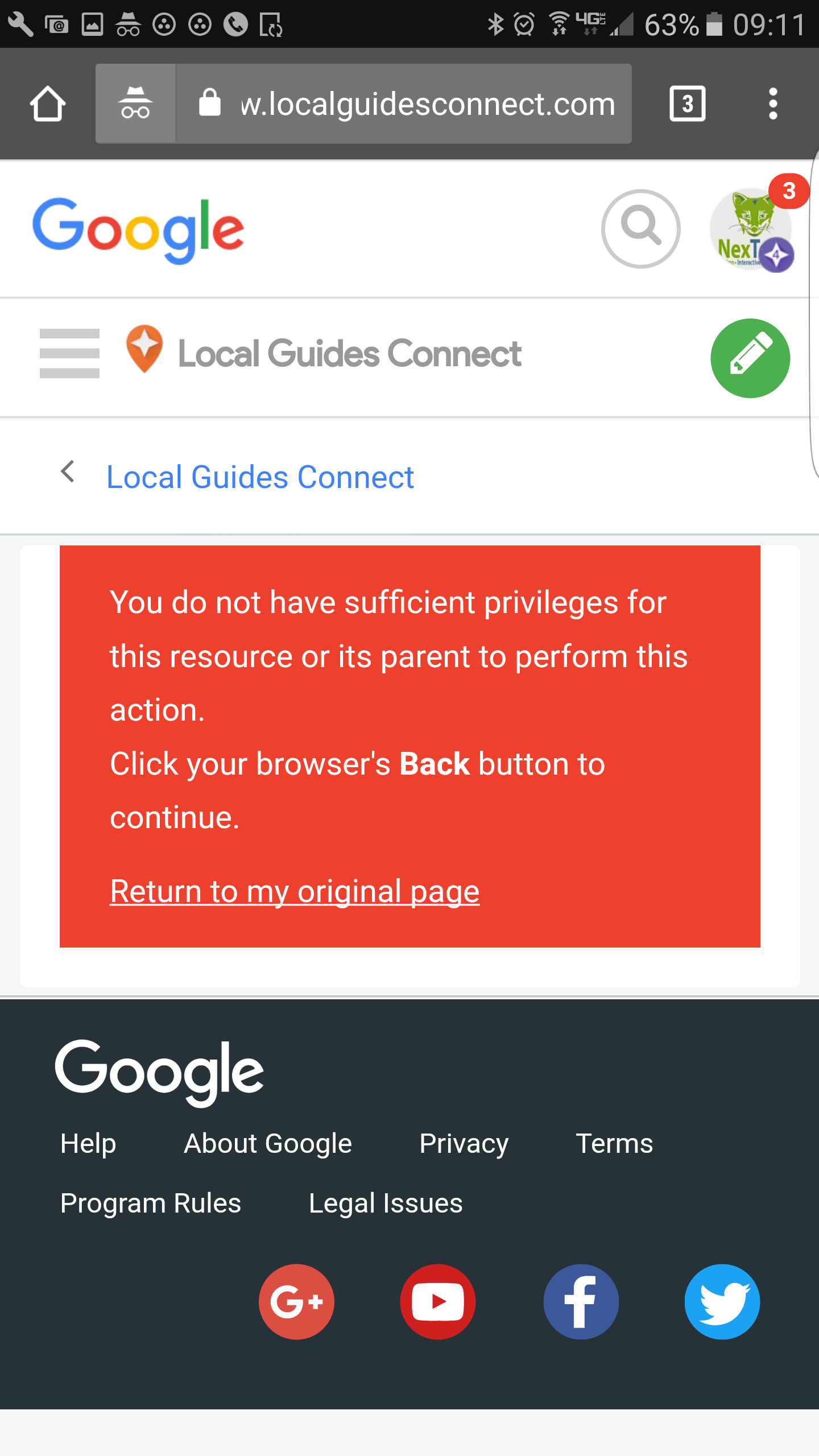 solved local guides connect   street view trusted badge