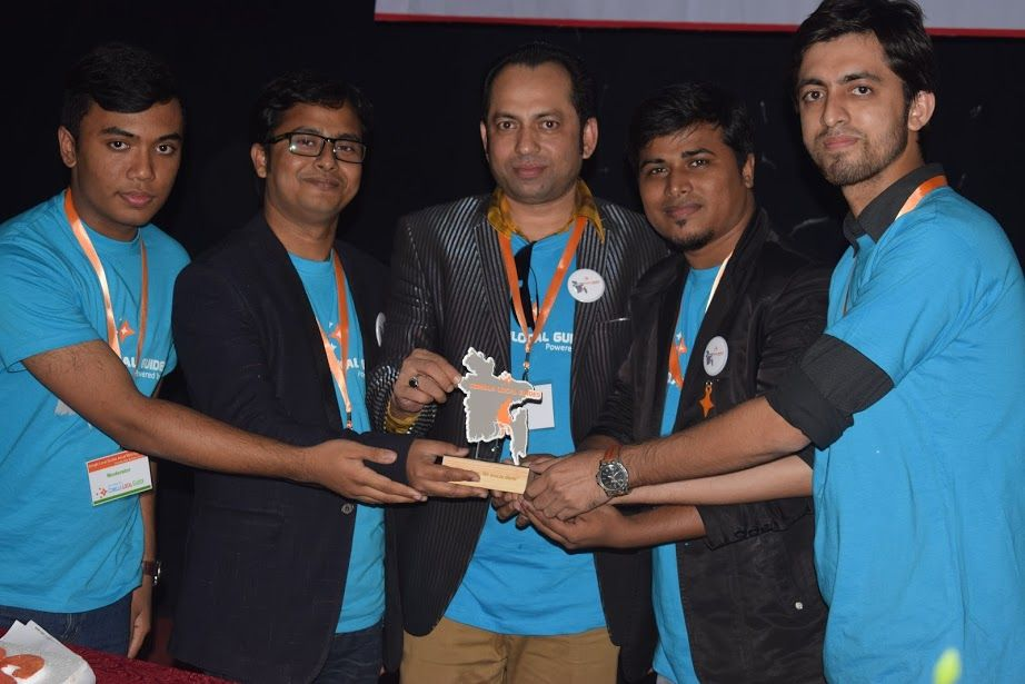 Mohammad Omar faruque Masud was awarded for his support.