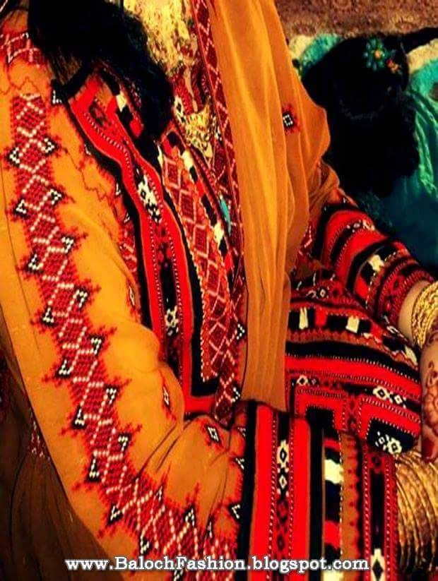 Hands of baloch men and women, how to create delicate and elegant effects with special skill, to entertain you.