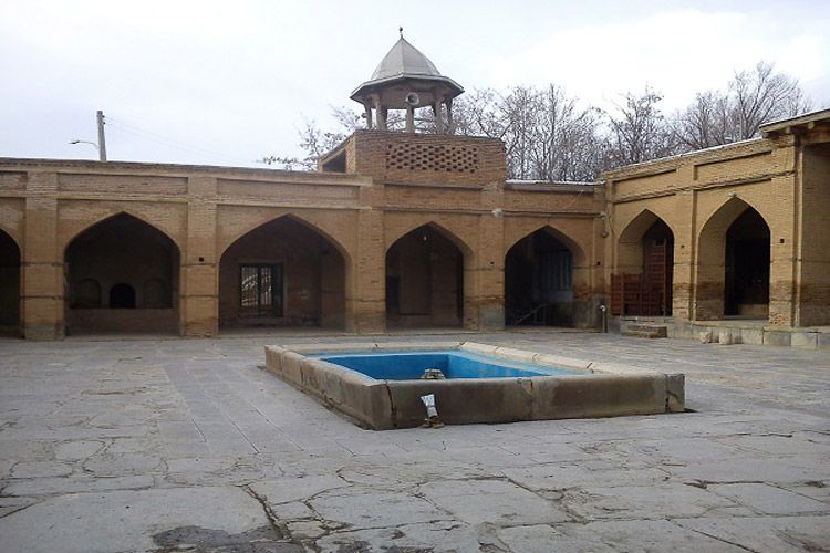 Iranian Tourism Attractions in Kashan.