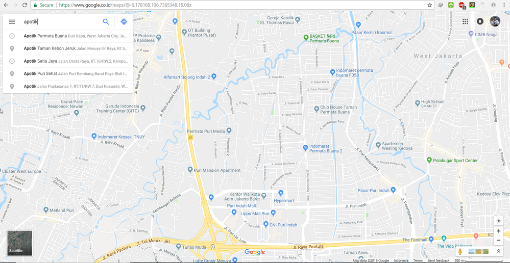 Local guides connect google maps search need to be optimized the result on that area is not shown and google maps show apotik which is far away publicscrutiny Image collections