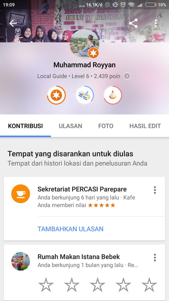 Local Guide Level 5