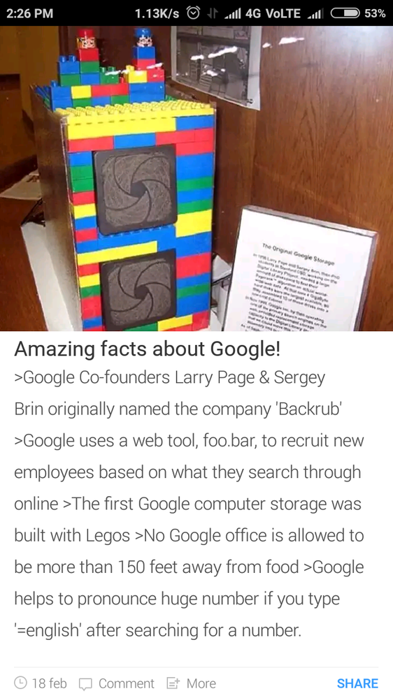 Local Guides Connect - Amazing facts about Google - Local