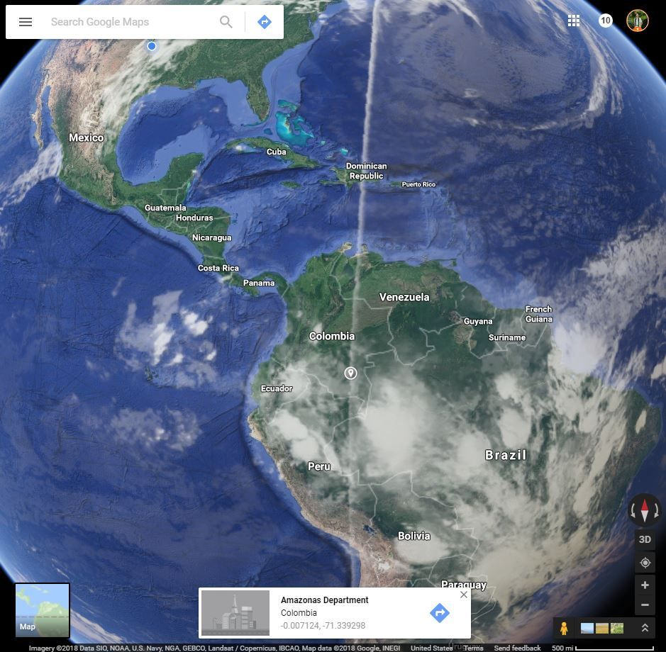 Local Guides Connect - Google Maps Satellite view straight line ...