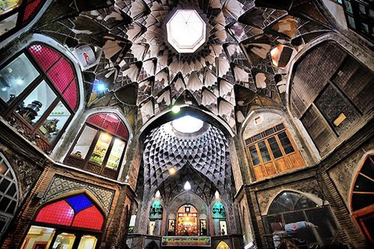 Tourist Attractions in Kashan Province. Iran