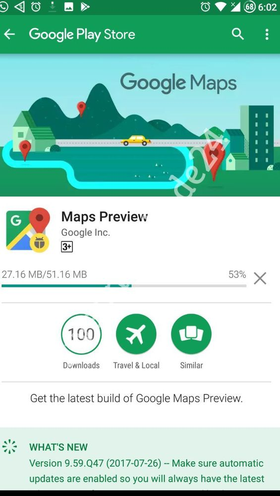 Local Guides Connect - 101st Maps Preview App Download done ... on download business maps, download icons, online maps, download london tube map, topographic maps, download bing maps,