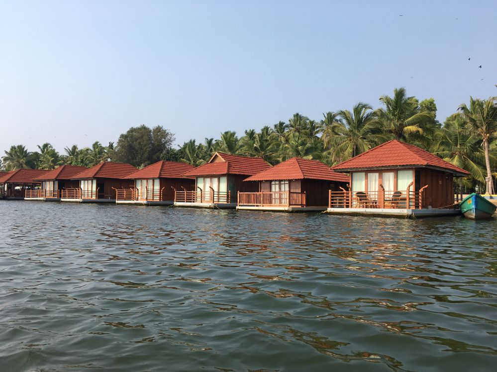 Cottages on Neyyar.