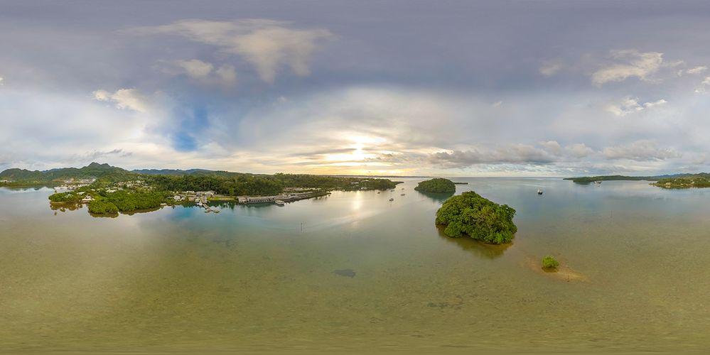 Sunrise over Lami Bay - Fiji