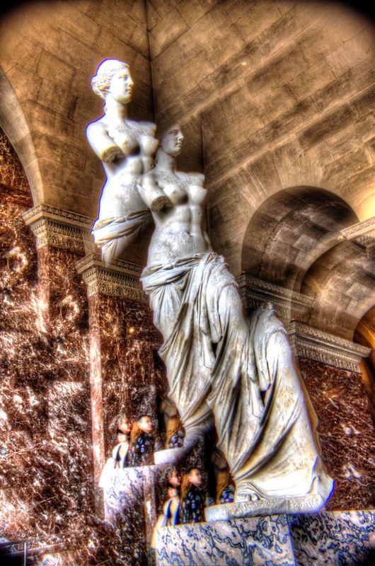 La Vénus de Milo, Louvre
