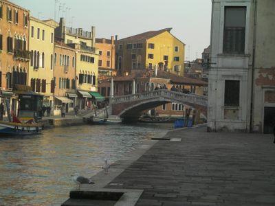 Il Ponte delle Guglie, visto da Fondamenta Venier Sebastiano