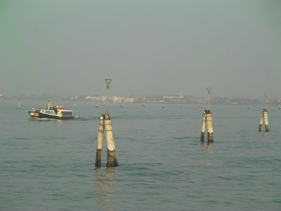 Murano, l'isola del Vetro, vista dalla Baia del Re