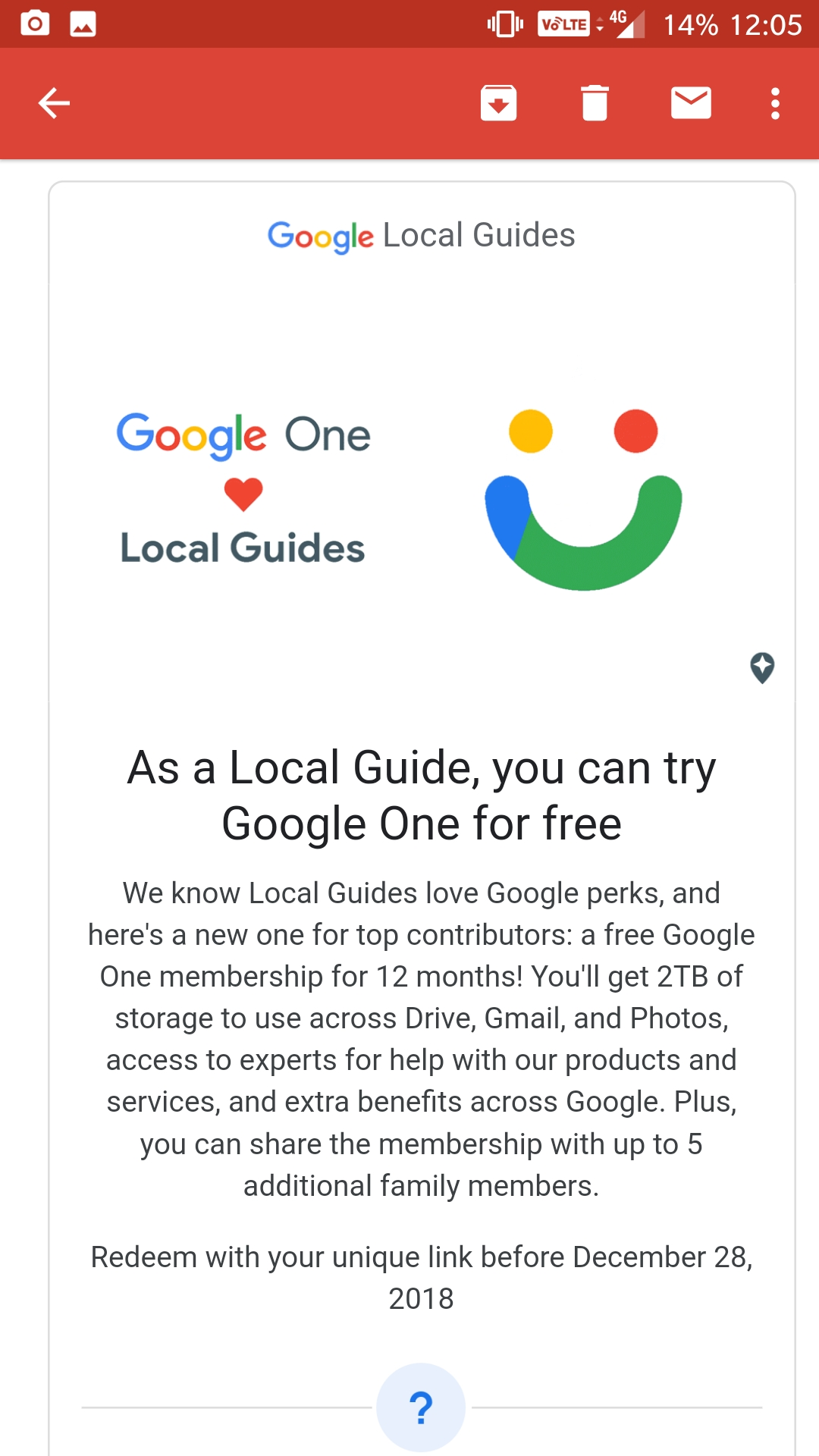Local Guides Connect - Google One Perk - Local Guides Connect