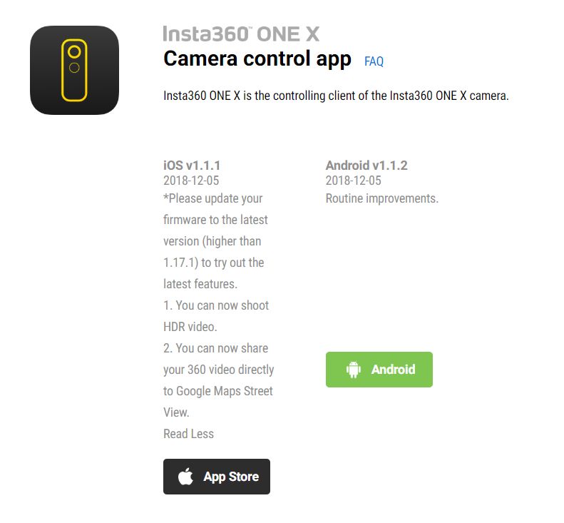Local Guides Connect - Insta360 One X can now publish video