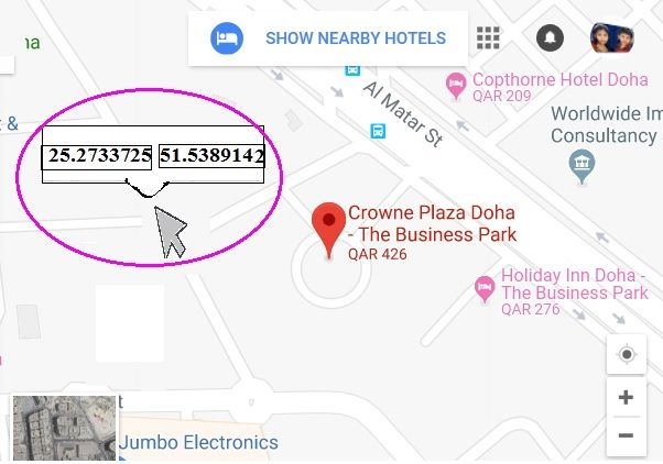 Local Guides Connect Show Longitude And Latitude Degree On Map