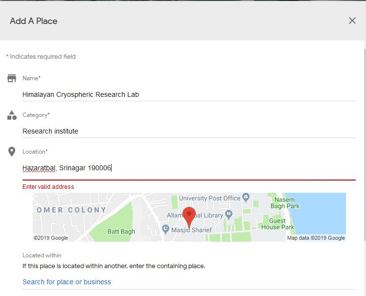 Solved: Local Guides Connect - Google Maps add missing place ... on google places map99412poaha pl, google earth my-places, bing maps places, directions to and from places, google map university,
