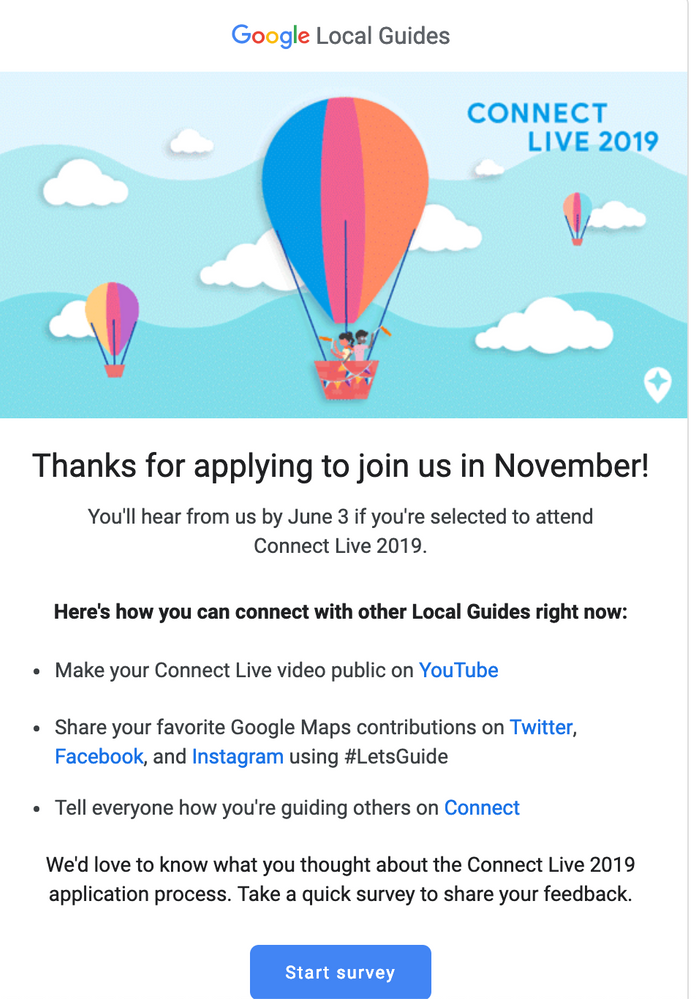 Local Guides Connect - Connect Live 2019 - How I Applied - Local