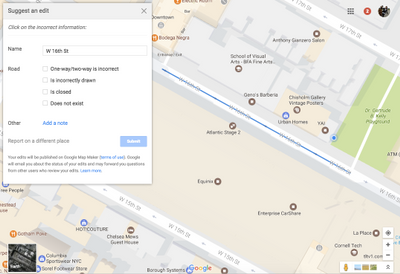 Local Guides Connect - Exclusive: Edit a road segment in Google Maps ...