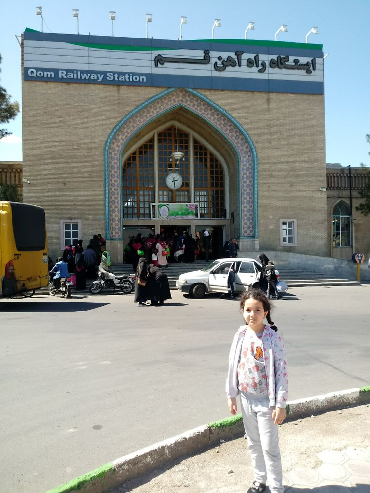 Image result for Qum railway station iran