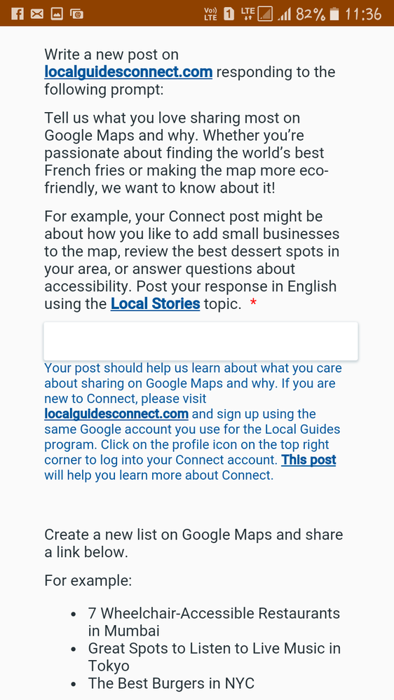 Local Guides Connect - How can I share the local stories in the