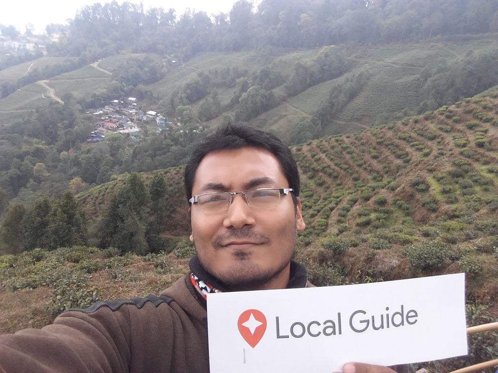 Local Guide Selfie