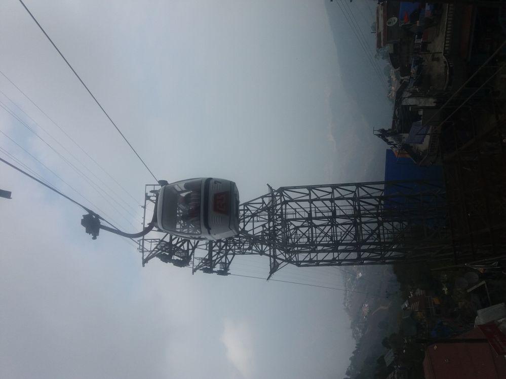 Ropeway @ Darjeeling