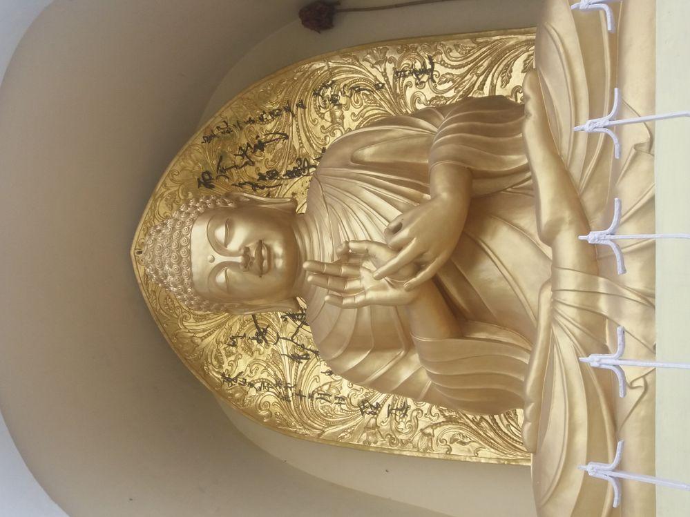 Buddha Statue @ Japanese Temple