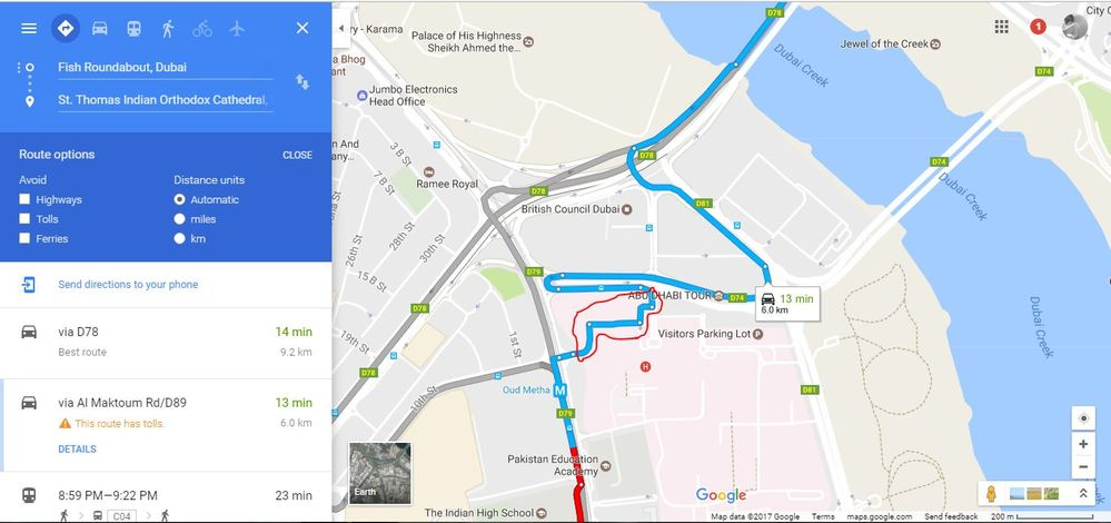 Local Guides Connect - Road closed in the Directions map ... on dubai area map, dubai climate map, mecca road map, dubai google map, dubai school map, dubai map location on earth, dubai underground map, dubai gas map, dubai city map, dubai ocean map, dammam road map, dubai light rail map, dubai forest map, dubai road car, dubai sand map, dubai terrain map, dubai zone map, dubai river map, dubai buildings map, dubai tramway map,