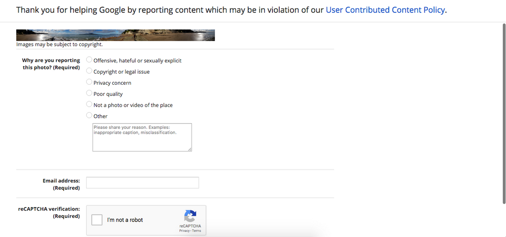 Local Guides Connect - Reporting a Problem on Google Maps