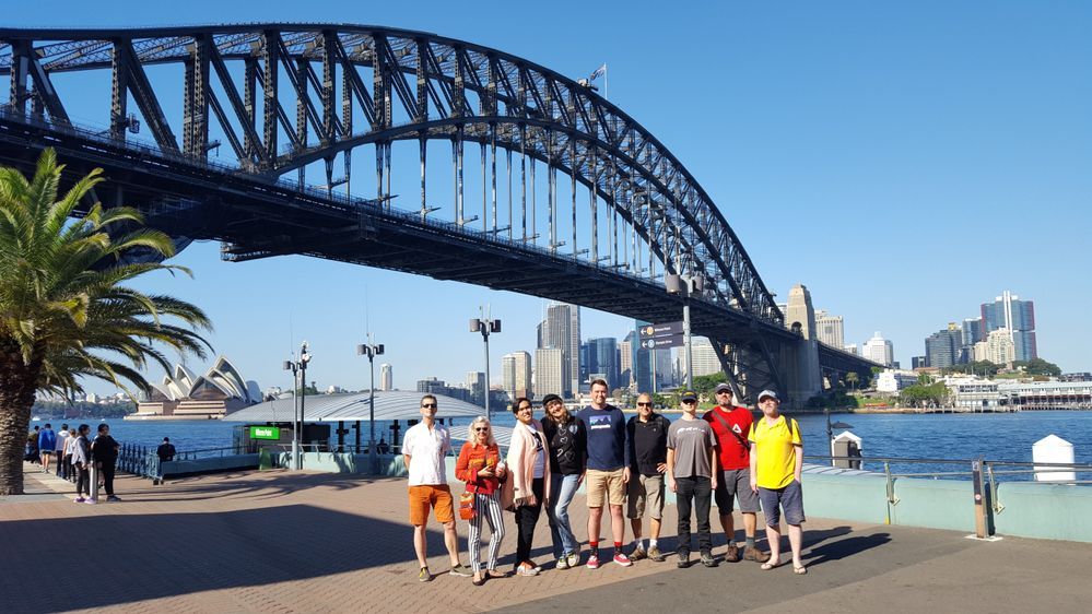 "Google Local Guides Sydney Australia  36"" Annual photowalk 23rd April 2017"