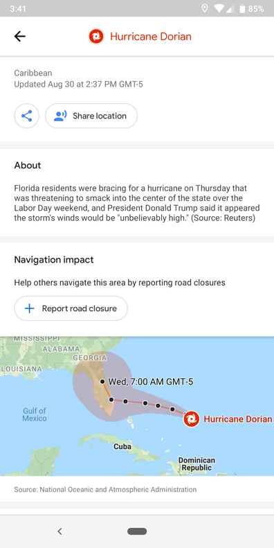 Local Guides Connect - Following a Storm with Google Maps