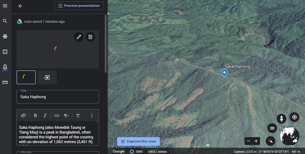 Local Guides Connect Top 10 Peak From Bangladesh Google Earth S