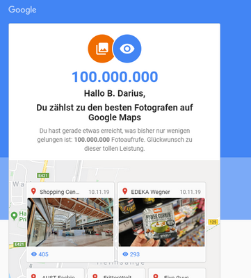 Local Guides Connect 100 Million Photo Views Local