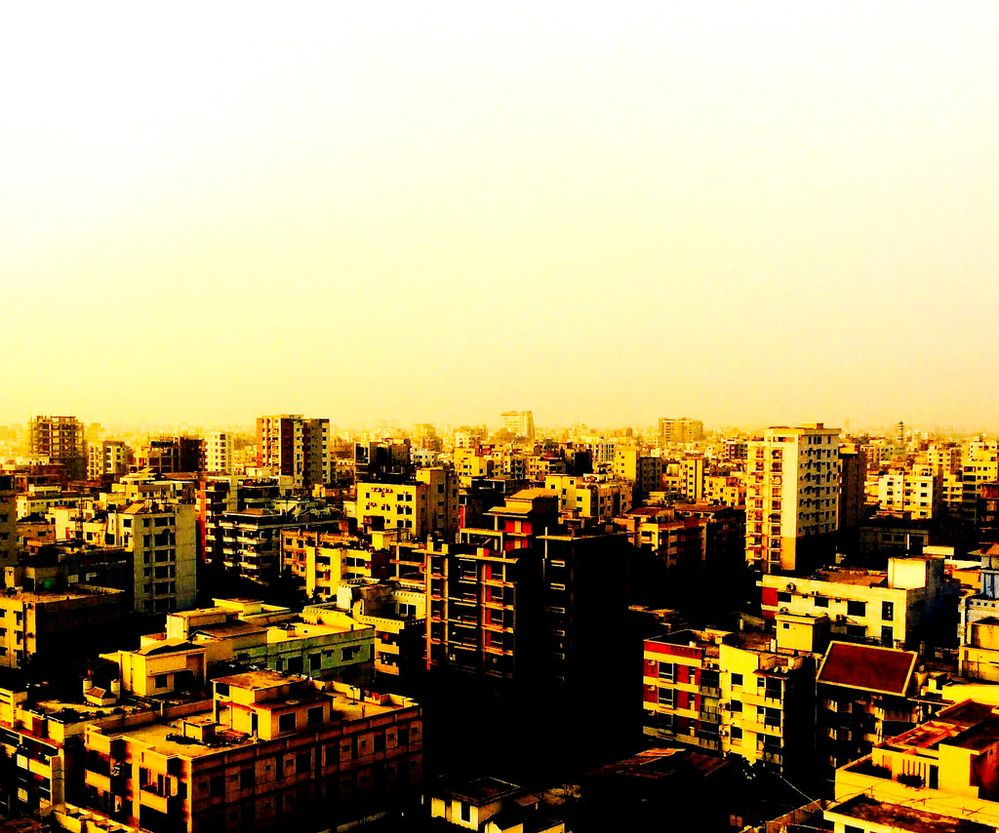 A view from birds eye restaurant, Paltan, Dhaka