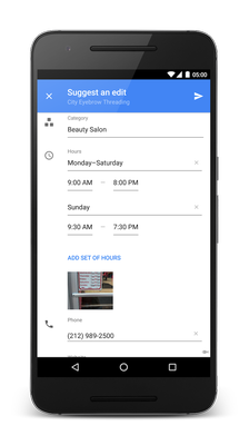 Publish to Google Maps (and earn points)
